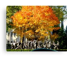 Community Canvas Print