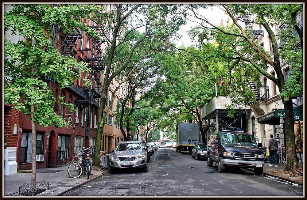 Jones Street, Greenwich Village by Mikell Herrick