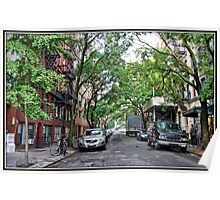 Jones Street, Greenwich Village Poster