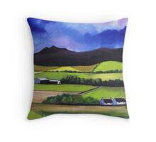 Bennachie near Old Meldrum Throw Pillow
