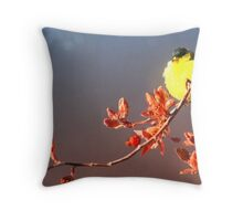 Melody of Spring Throw Pillow