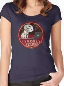 His Master's 802.11n Women's Fitted Scoop T-Shirt