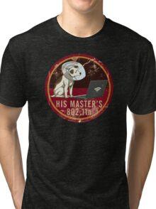 His Master's 802.11n Tri-blend T-Shirt