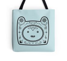Finn Sugar Skull - black Tote Bag