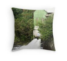 Old Electric Mill in Hilo Throw Pillow