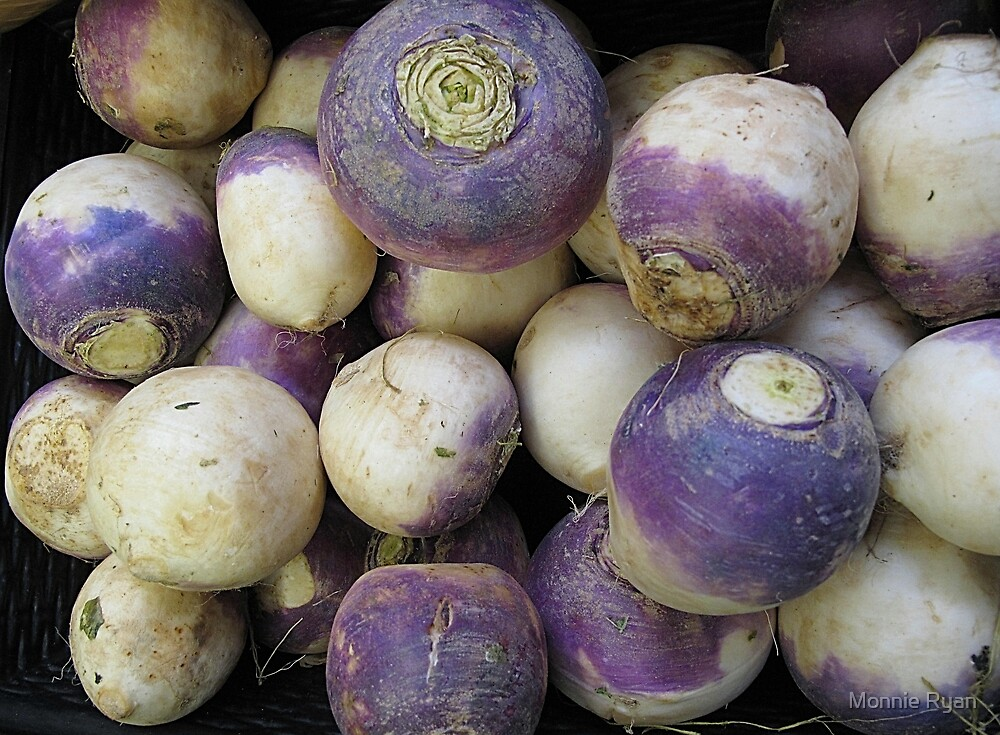Don't Turnip Your Nose at Vegetables by Monnie Ryan