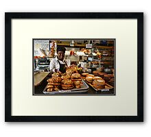 Fall Specials in the Pastry Shop Framed Print