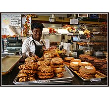 Fall Specials in the Pastry Shop Photographic Print