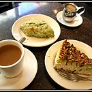 Pistachio Cheesecake or Biscotti by Mikell Herrick