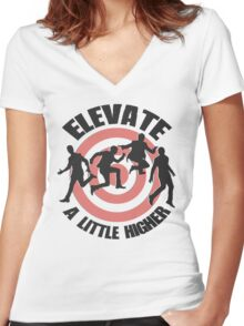 Elevate Women's Fitted V-Neck T-Shirt