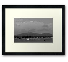 Bass Harbor Framed Print