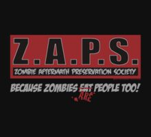 Z.A.P.S. (Zombie Aftermath Preservation Society) by screamingtiki