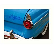 Lost in the Fifties Art Print
