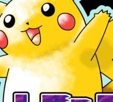 Pokemon Origins: Yellow Sticker
