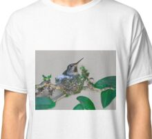 Mama Hummingbird Nesting Classic T-Shirt