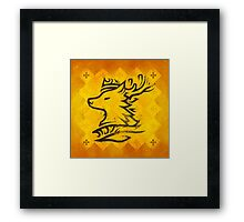 House Baratheon - Game of Thrones Framed Print
