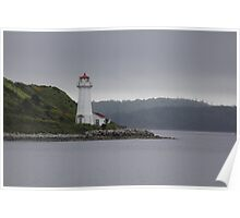 Lighthouse - Halifax Harbor NS, Canada Poster