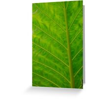 green iphone/samsung galaxy cover Greeting Card