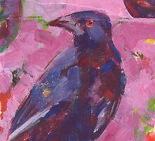 Chough Trio by Mellissa Read-Devine