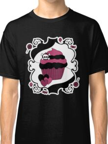 Naughty But Nice Gothic Cupcake Classic T-Shirt
