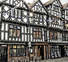 Ye Olde Bull Ring Tavern, Ludlow. by hans p olsen