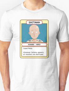 Saitama Trading Card T-Shirt