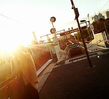 Platform 9 by Steve Leadbeater