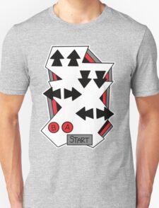 Konami Code 80's Nintendo Style T-Shirt
