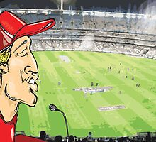 Lucky and The Footy Gods at MCG by bakerd