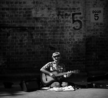 The Harmonica Player by Ben Loveday