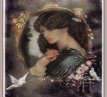 Pre Raphaelite  by Irene  Burdell
