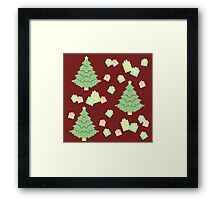 Christmas Tree with Presents #3 Framed Print