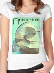 Artkitecture  Women's Fitted Scoop T-Shirt