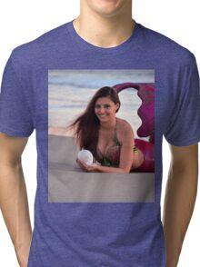 Seashore Smile Tri-blend T-Shirt