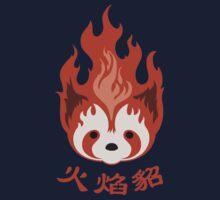 Legend of Korra: Fire Ferrets Pro Bending Emblem Kids Tee