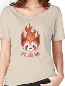 Legend of Korra: Fire Ferrets Pro Bending Emblem Women's Relaxed Fit T-Shirt