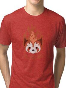 Legend of Korra: Fire Ferrets Pro Bending Emblem Tri-blend T-Shirt