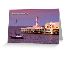 Cunningham Pier at Geelong Greeting Card