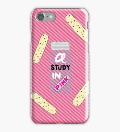 Sherlock - A Study In Pink iPhone Case/Skin