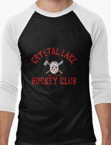 Crystal Lake Hockey Club Men's Baseball ¾ T-Shirt