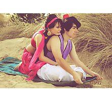 Aladdin & Jasmine Photographic Print