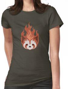 Legend of Korra: Fire Ferrets Pro Bending Emblem - no text Womens Fitted T-Shirt