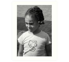 Musti Girl Art Print