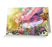 Howl's Moving Caslte Greeting Card