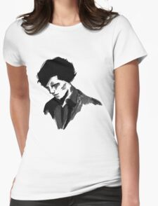 Sherlock (Larger) Womens Fitted T-Shirt