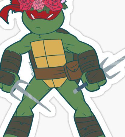 Flower Power Raphael Sticker