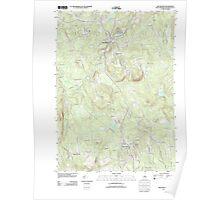 USGS TOPO Map New Hampshire NH New Boston 20120508 TM Poster
