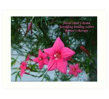 Floral Choir Art Print