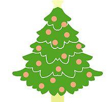 O' Christmas Tree #1 by simplepaperplan