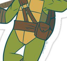 Flower Power Donatello Sticker